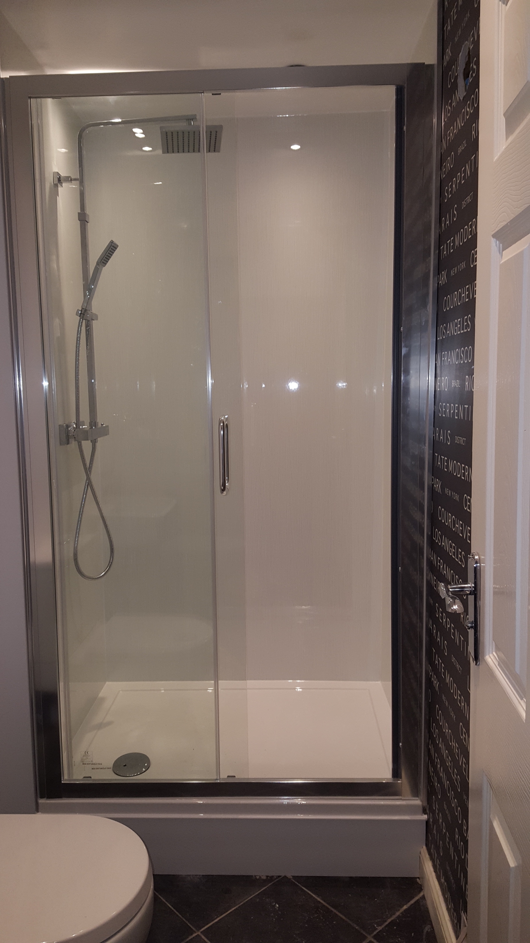 Colcro bathroom completed after refit